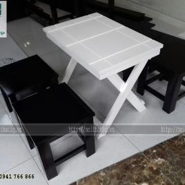 Bàn ghế cafe phong cách - BGCF001