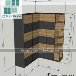 Tủ quần áo - TQA007