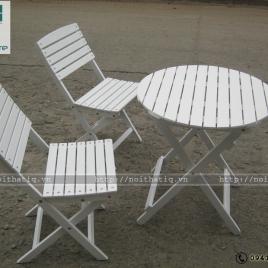 Bàn ghế cafe phong cách - BGCF005