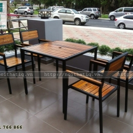 Bàn ghế cafe phong cách - BGCF008