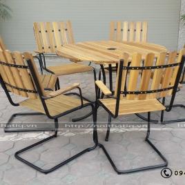 Bàn ghế nhà hàng - BNH004
