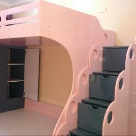 Giường Tầng Trẻ Em Đẹp : GTTE009