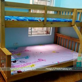 Giường tầng gỗ cho trẻ em