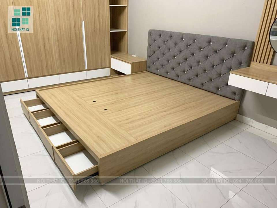 11 mẫu giường ngủ đơn giản mà đẹp ở Hải Phòng