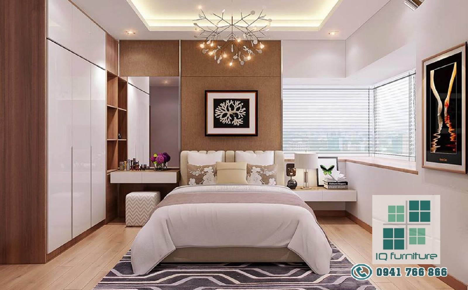 3 Mẫu thiết kế nội thất phòng ngủ đẹp nhất tại Hải Phòng 2017