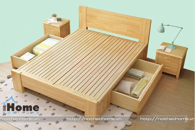 5 mẫu giường ngủ đa năng cho người lớn đẹp, tiện nghi cho phòng ngủ nhỏ