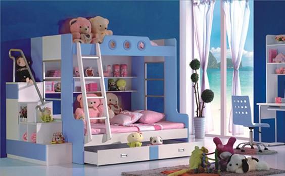 Lý do vì sao bạn nên mua giường tầng cho bé yêu