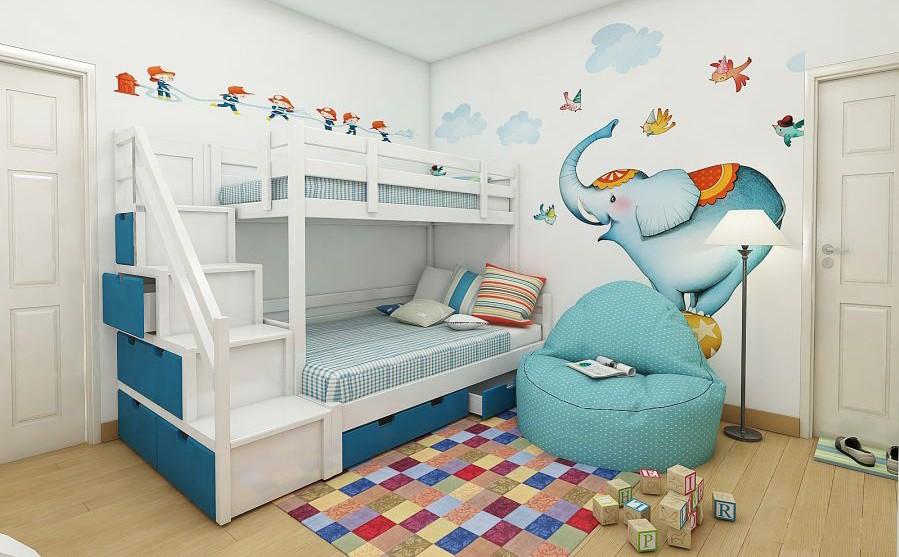 Sản xuất nội thất giường tầng thông minh đẹp tại Hải Phòng.