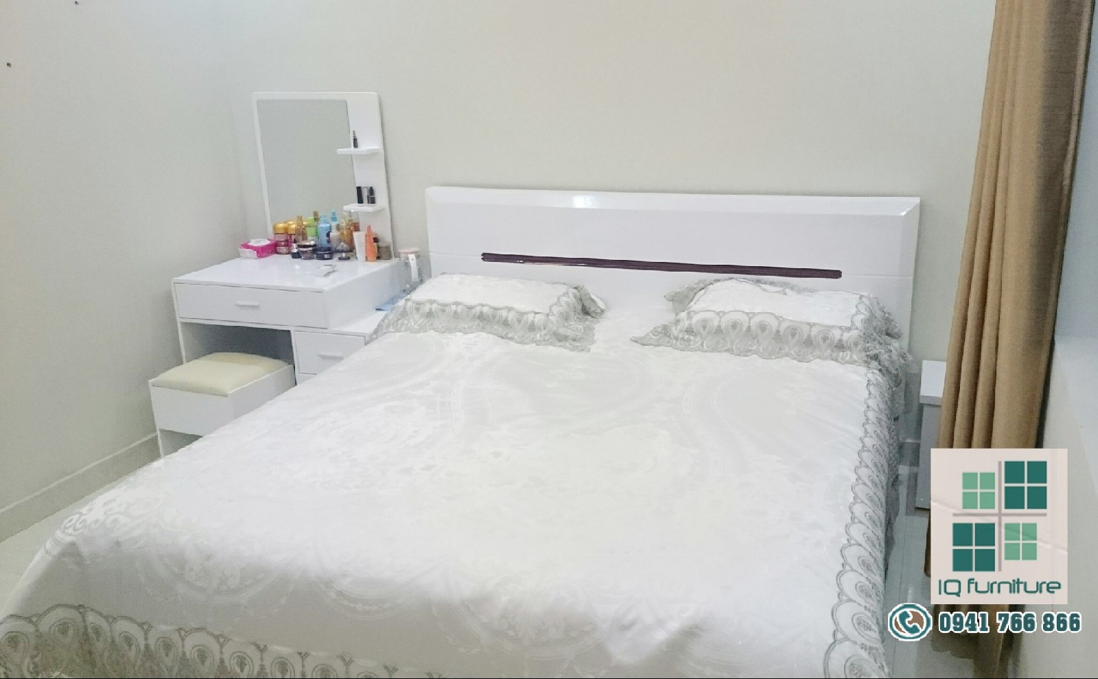 Thiết kế nội thất phòng ngủ chị Huệ - Đông Hải - Hải An, Hải Phòng