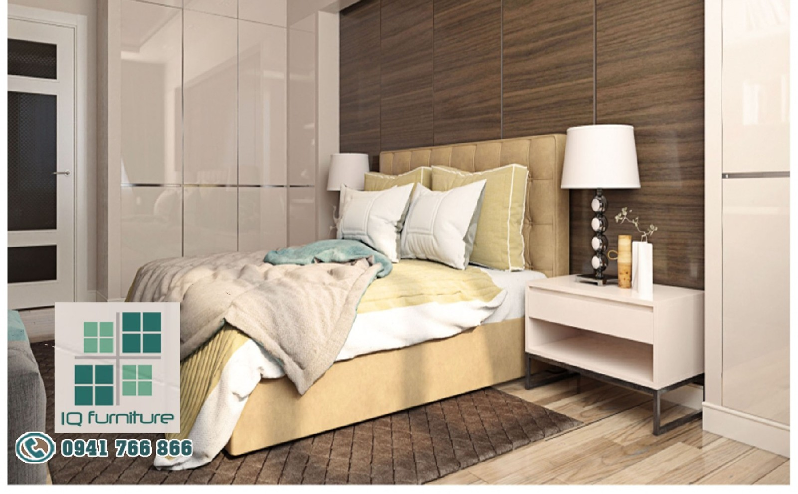 Thiết kế nội thất phòng ngủ Hải Phòng đẹp năm 2017