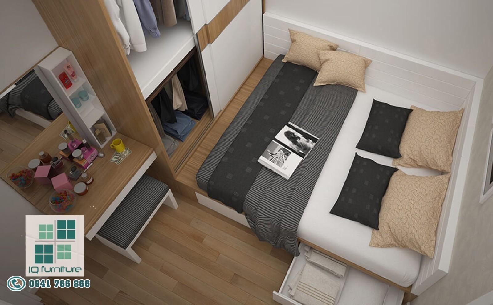 Thiết kế nội thất phòng ngủ Hải Phòng - Nội thất IQ