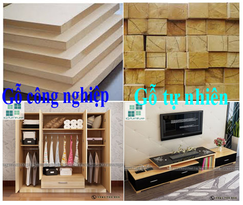 Tủ gỗ công nghiệp hay tự nhiên tốt hơn ?