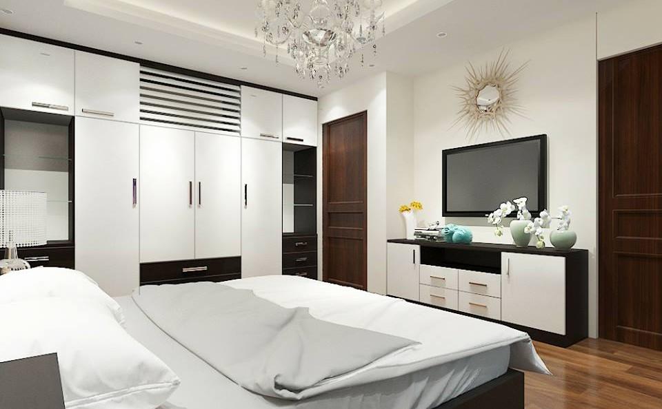 Ý tưởng thiết kế nội thất phòng ngủ đẹp năm 2017
